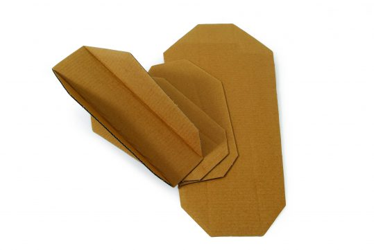 Cardboard Splint – Small, with capacity to immobilise a broad range of injuries
