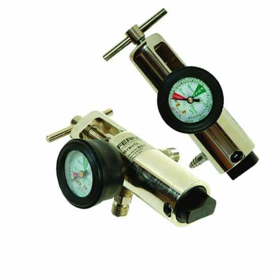Oxygen Regulator – Brass (2 outlets)