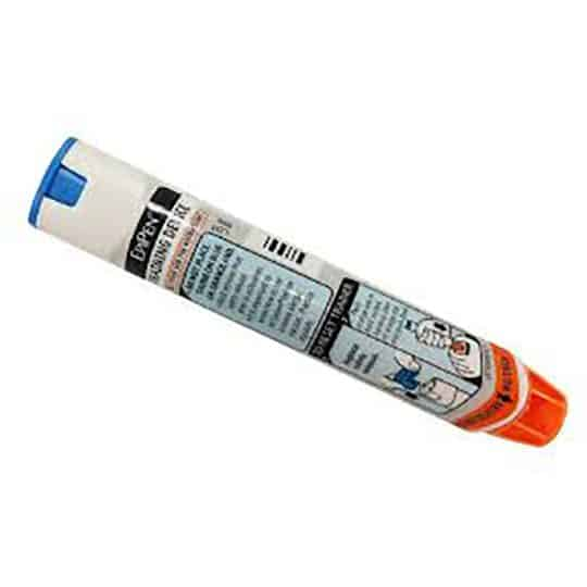 EpiPen® Training device, Auto-Injector, does not contain Adrenaline/Epinephrine, demonstrate to carers