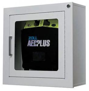 Zoll Metal Wall Cabinet with Alarm for AED Plus Defibrillator