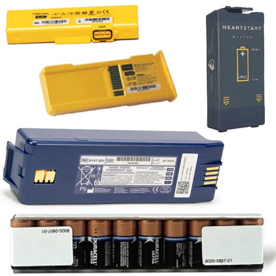 Defibrillator Batteries