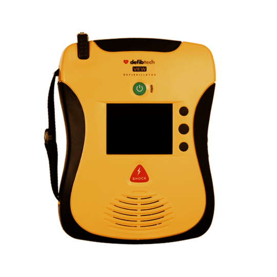 The Lifeline VIEW AED shows you what to do in an emergency, step by step, in full colour, high definition video. Personal Coach first aid CPR training tool.