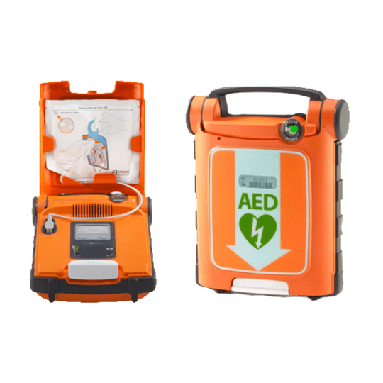 The Powerheart G5 easy-to-use cardiac arrest medical rescue AED G5. Real-time CPR feedback, fully automatic shock delivery.