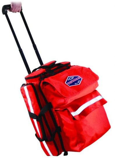 Thomas ALS Pack Ultra Roller –  to carry equipment and supplies needed by emergency medical teams to perform cardiac and trauma life support