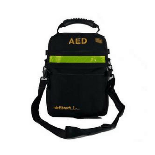 This AED Soft Carry Bag 57920 case provides storage for a Lifeline AED, an extra set of pads, a spare battery and other accessories, as needed.